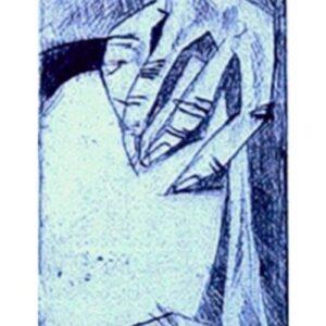 Burladero (punta seca)