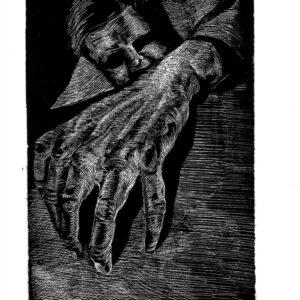 Desesperación. Aguafuerte (7,5x11,5cm)