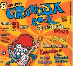 """Cartel """"granjua Rock"""""""