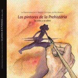 """Portada del libro """"los pintores de la prehistoria"""""""