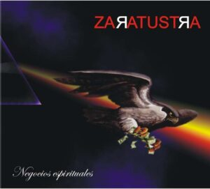 "Portada del disco ""negocios espirituales de ""Zaratrusta"""