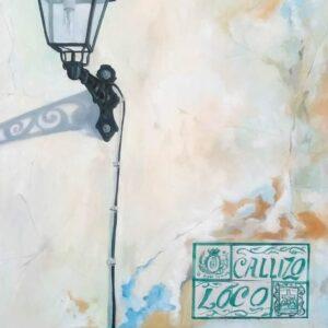 """""""Callizo loco"""" Mixta sobre tela (100x81 cm)"""